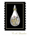 Alchemical Process 15 - Art Postage Stamp